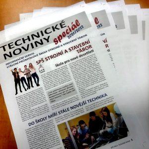 Speciální vydání Technických novin SPŠ Tábor