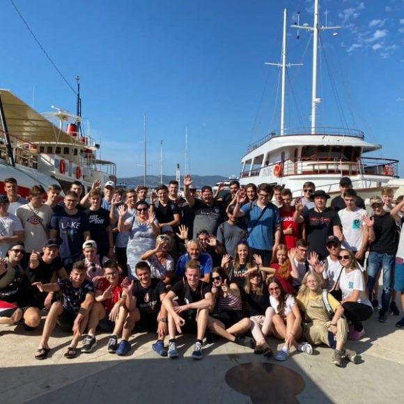 První kurz v Chorvatsku